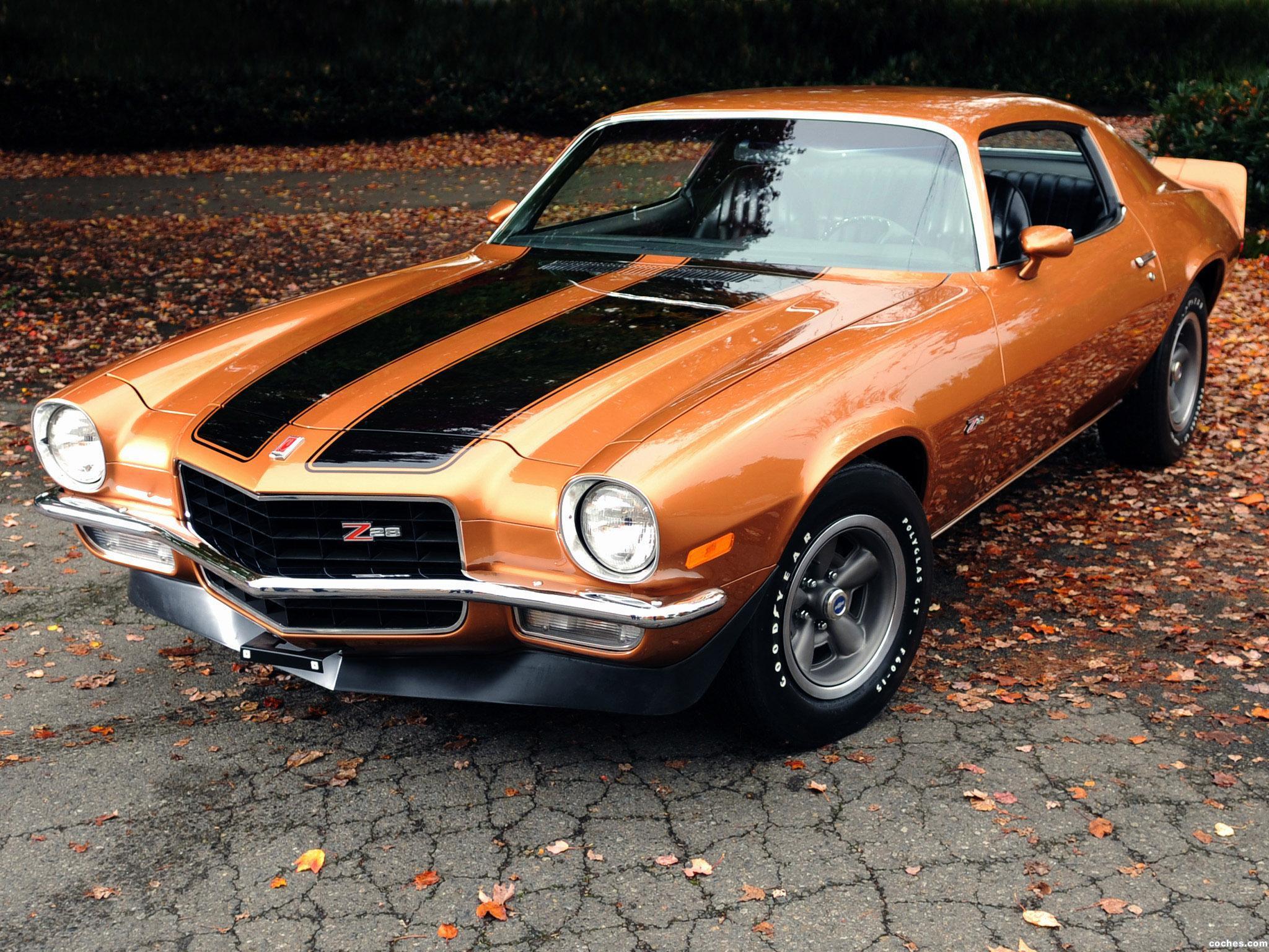 Foto 0 de Chevrolet Camaro Z28 2487 1971
