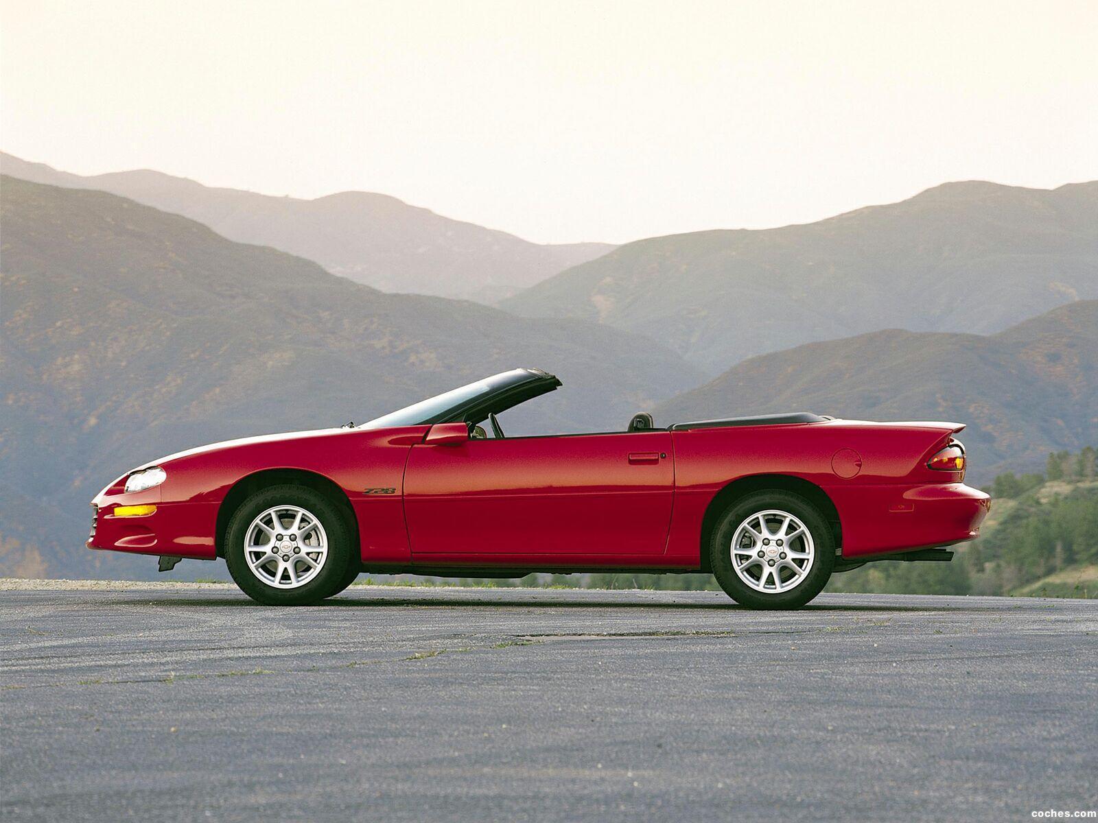 Foto 4 de Chevrolet Camaro Z28 Convertible 1999
