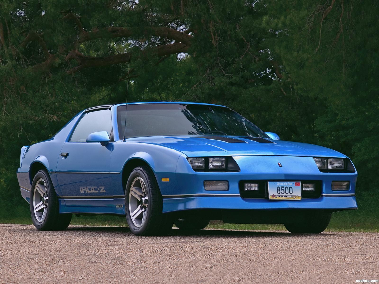 Foto 0 de Chevrolet Camaro Z28 IROC-Z 1985