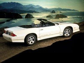 Ver foto 2 de Chevrolet Camaro Z28 IROC-Z Convertible 1987