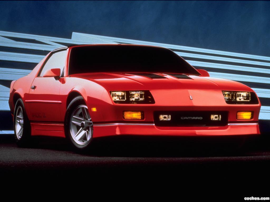 Foto 0 de Chevrolet Camaro Z28 IROC-Z T-Top 1985