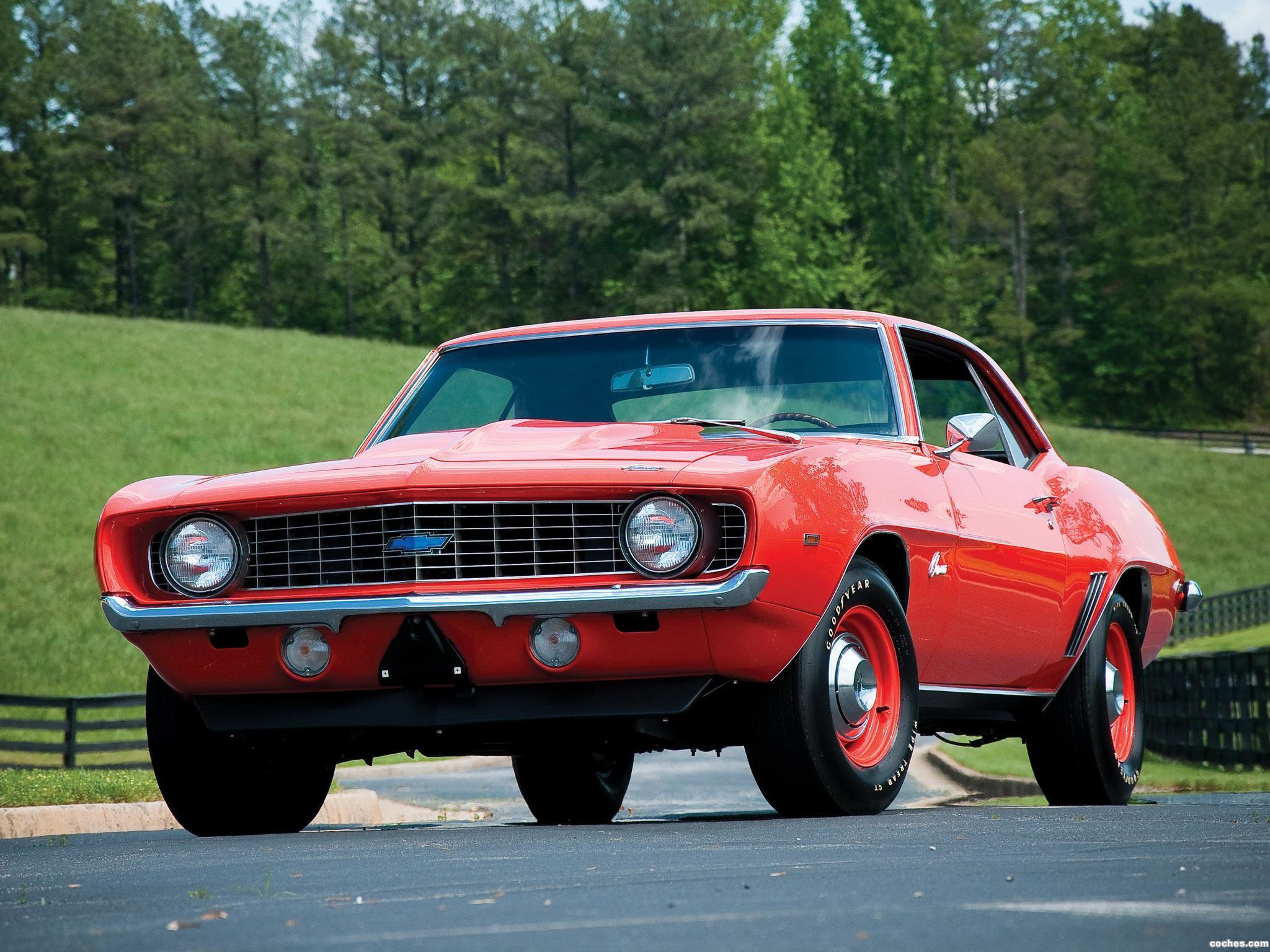 Foto 0 de Chevrolet Camaro ZL-1 1969