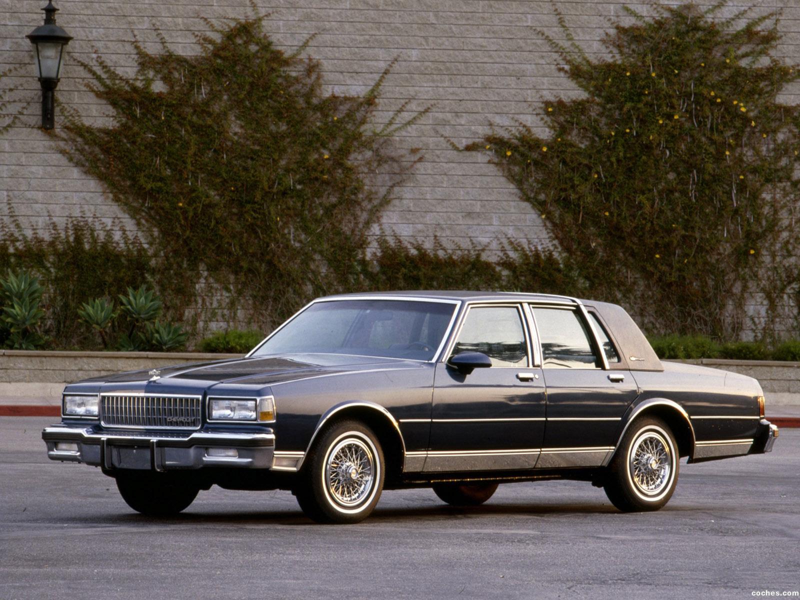 Foto 0 de Chevrolet Caprice Brougham LS 1987