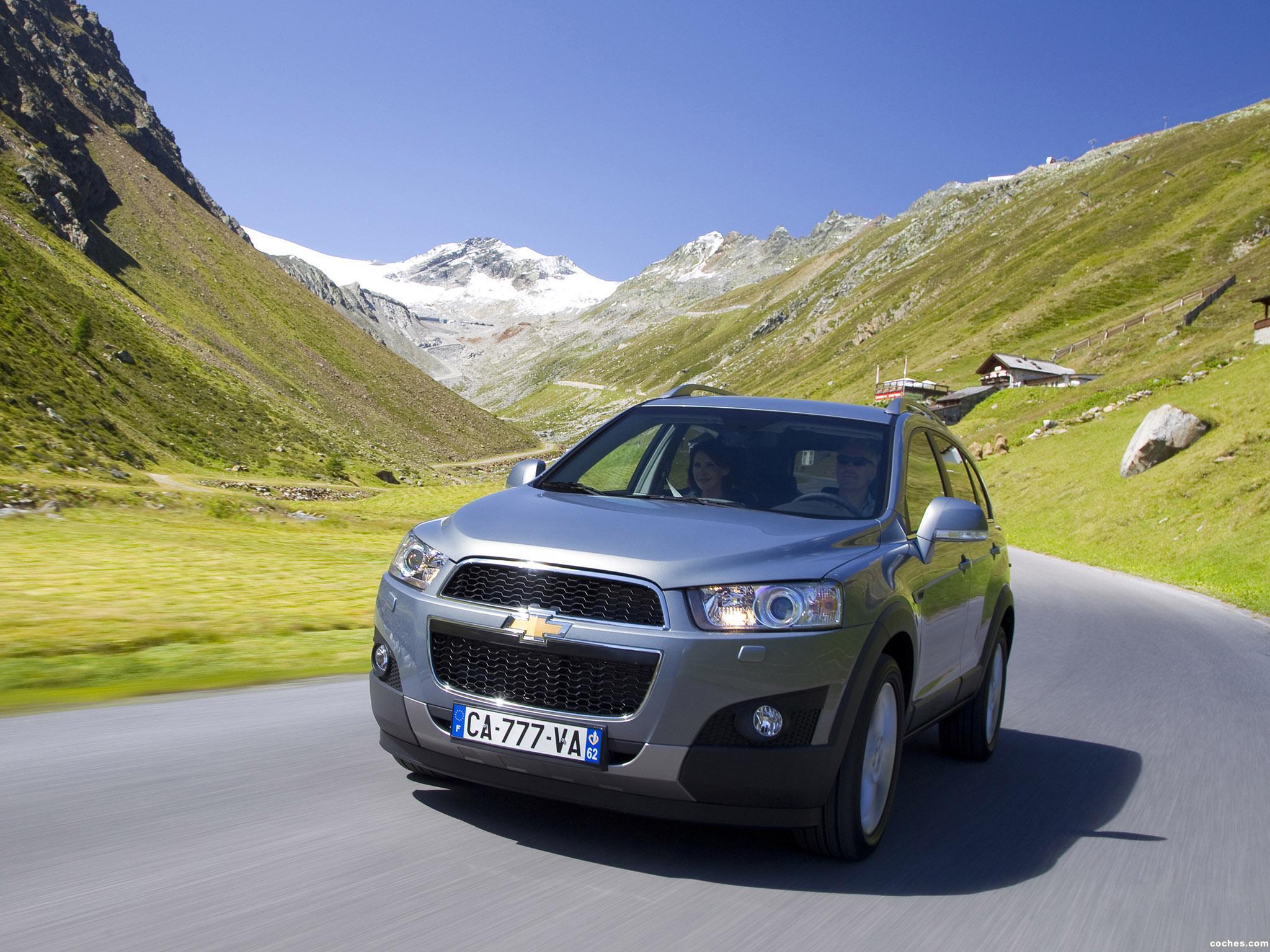 Foto 27 de Chevrolet Captiva 2010
