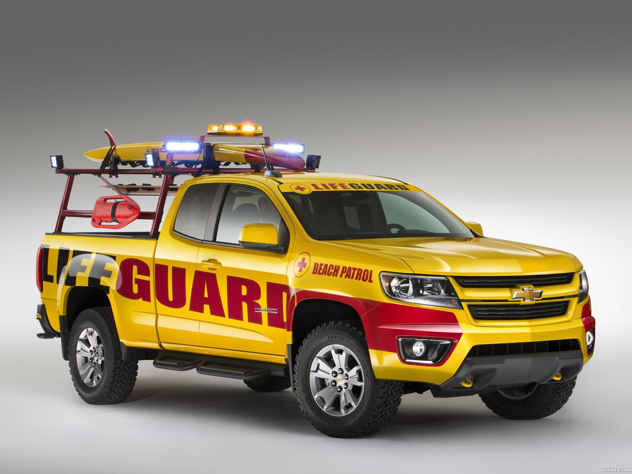 Foto 0 de Chevrolet Colorado Beach Patrol Show Truck 2013