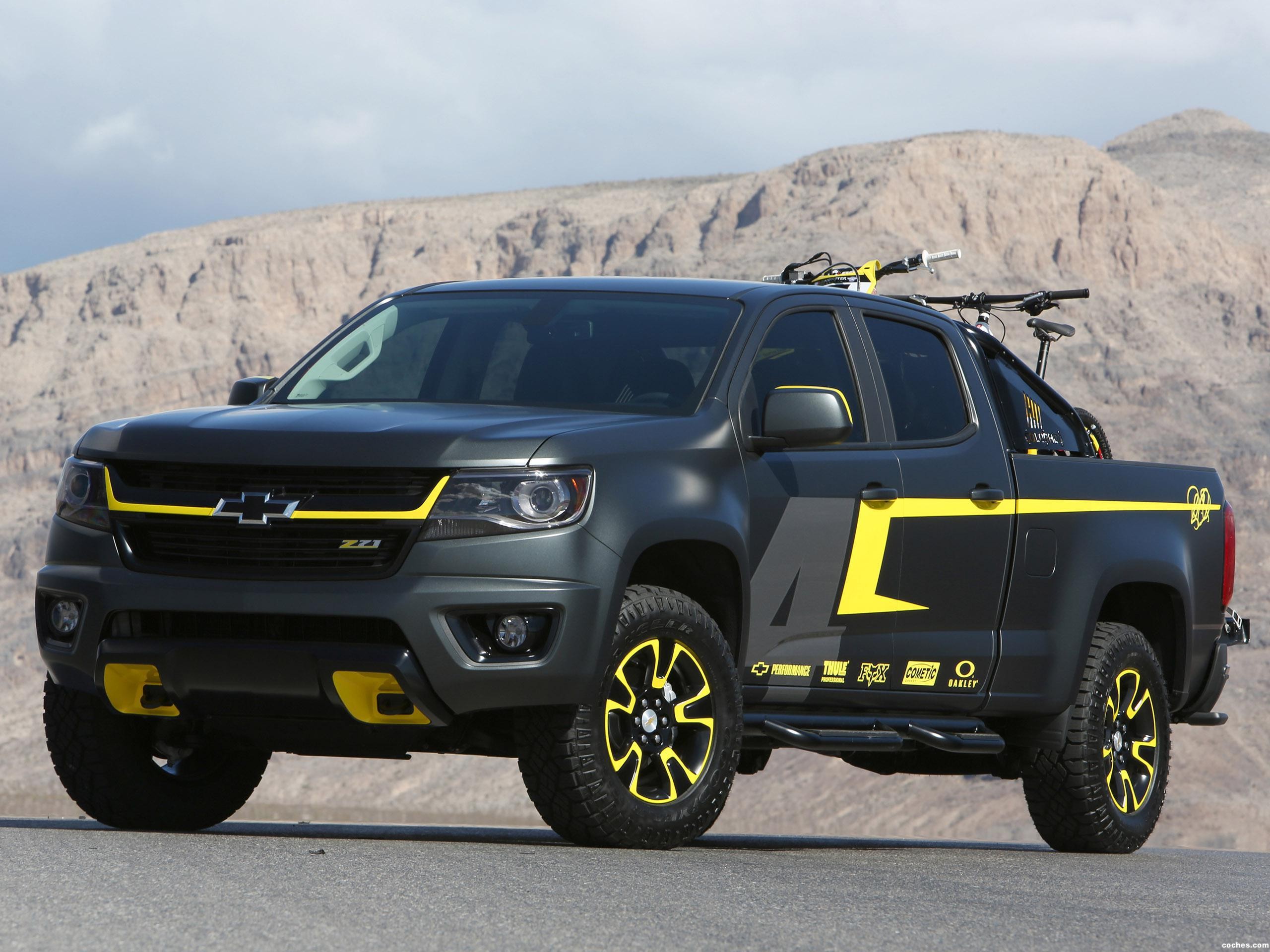 Foto 0 de Chevrolet Colorado Performance Concept 2014