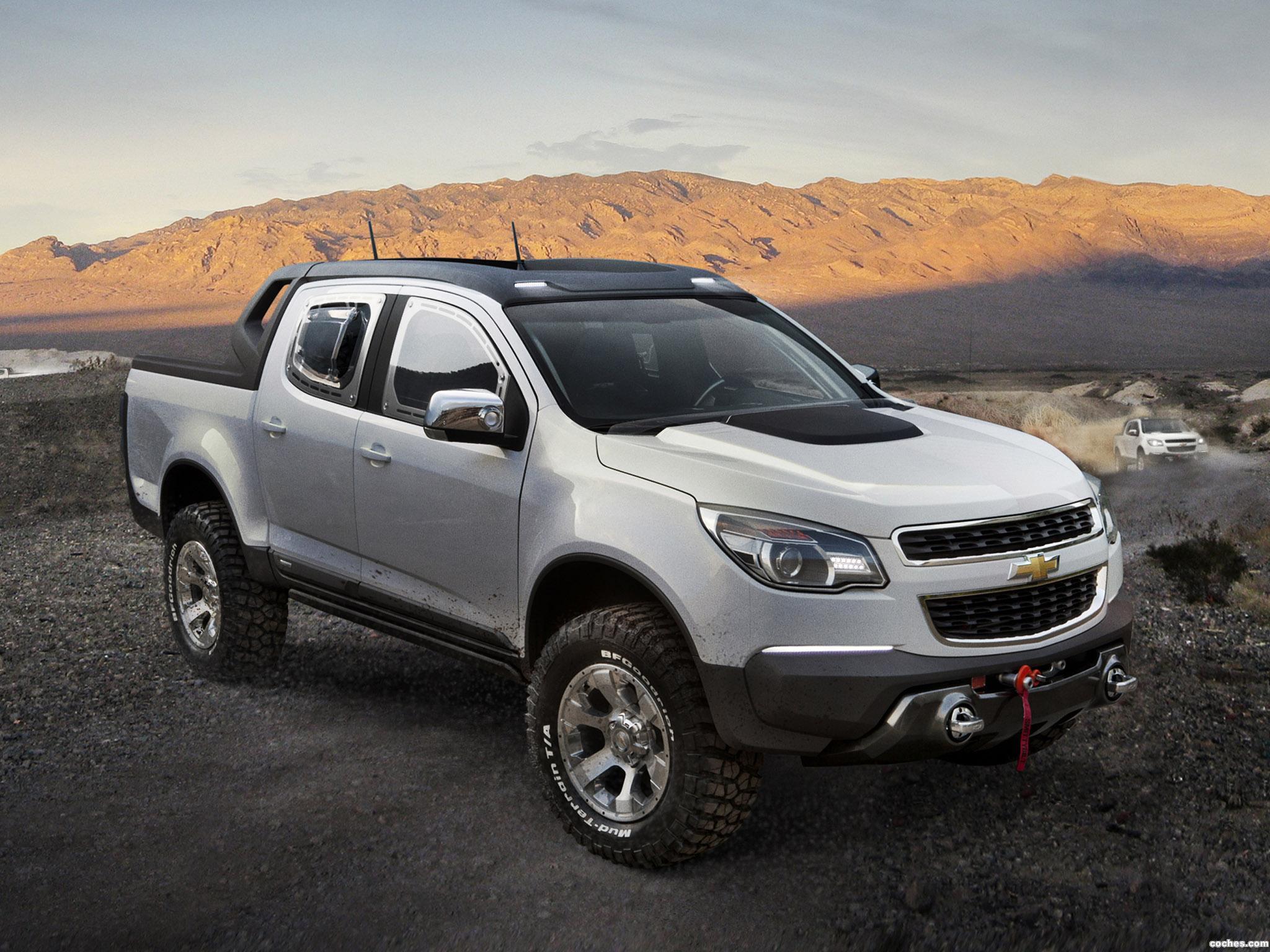 Foto 0 de Chevrolet Colorado Rally Concept 2011