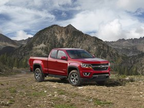 Ver foto 3 de Chevrolet Colorado Z71 Trail Boss Extended Cab 2015