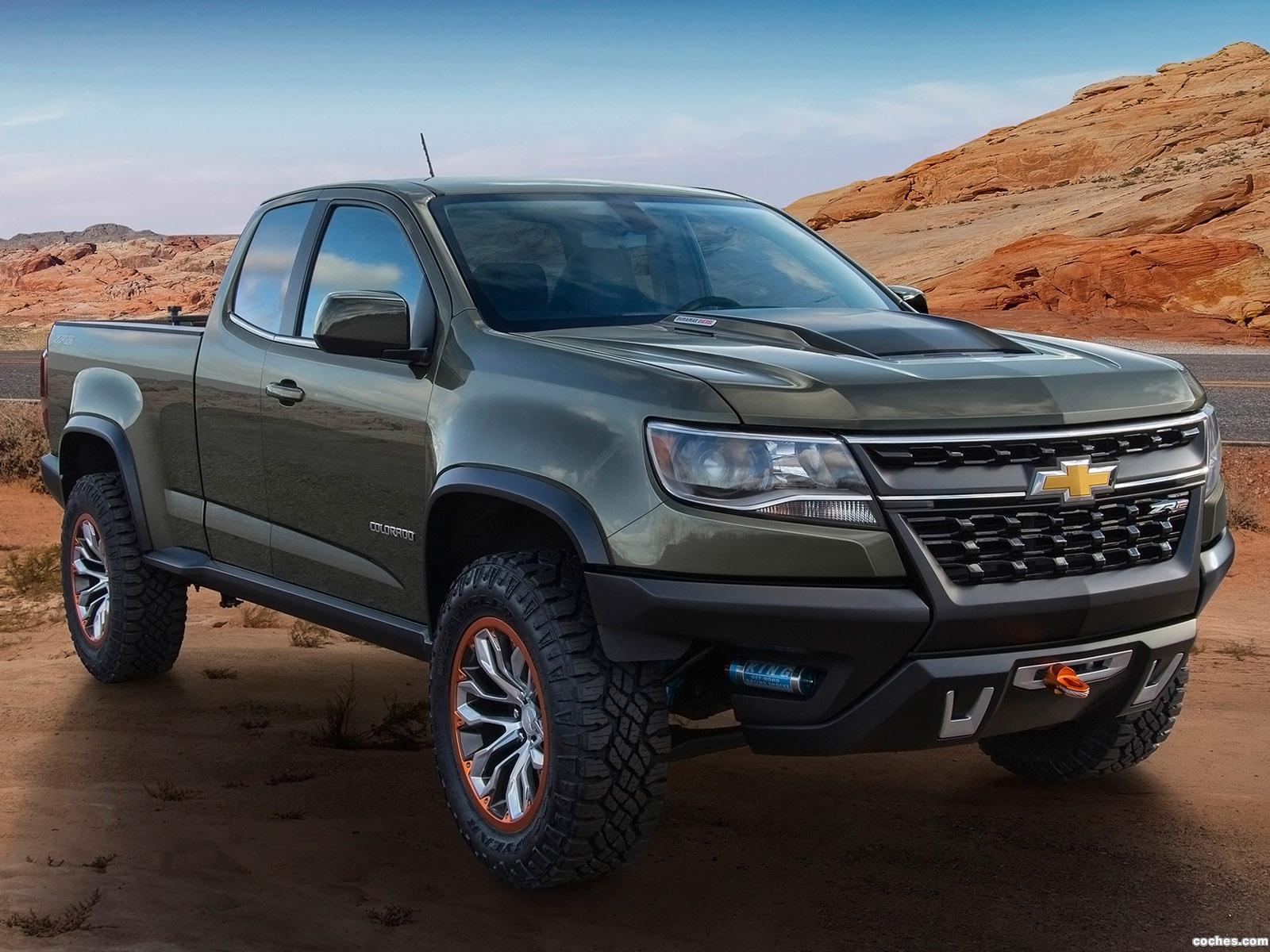 Foto 0 de Chevrolet Colorado ZR2 Concept 2014