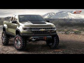 Ver foto 5 de Chevrolet Colorado ZR2 Concept 2014