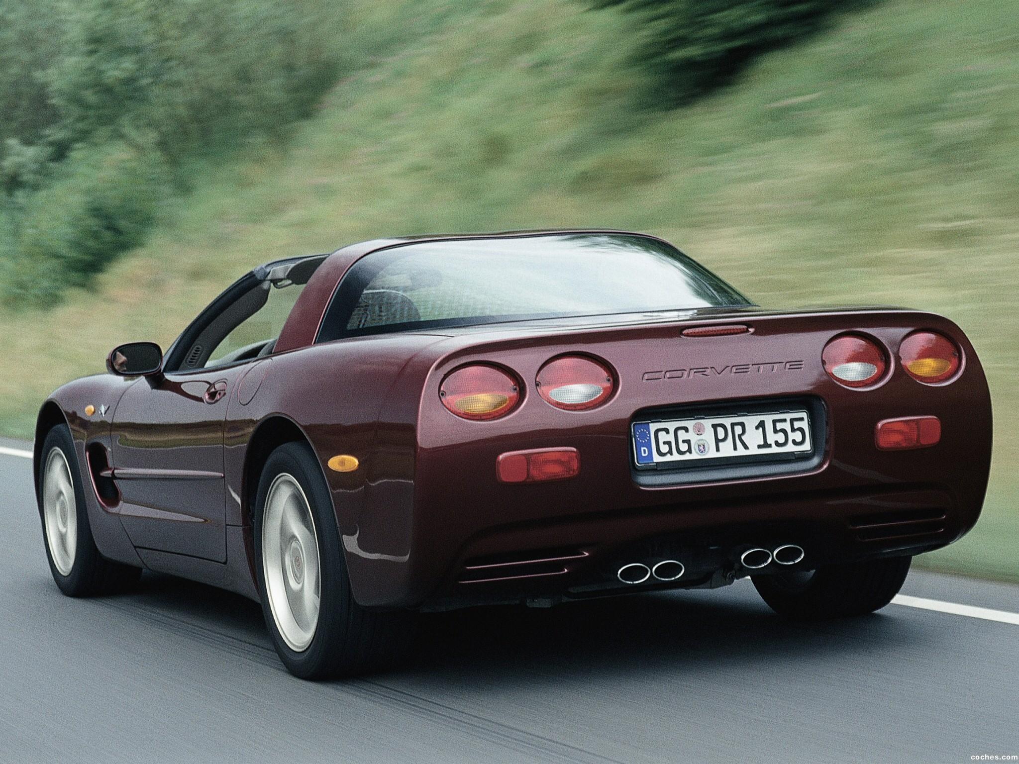 Foto 7 de Chevrolet Corvette 2000