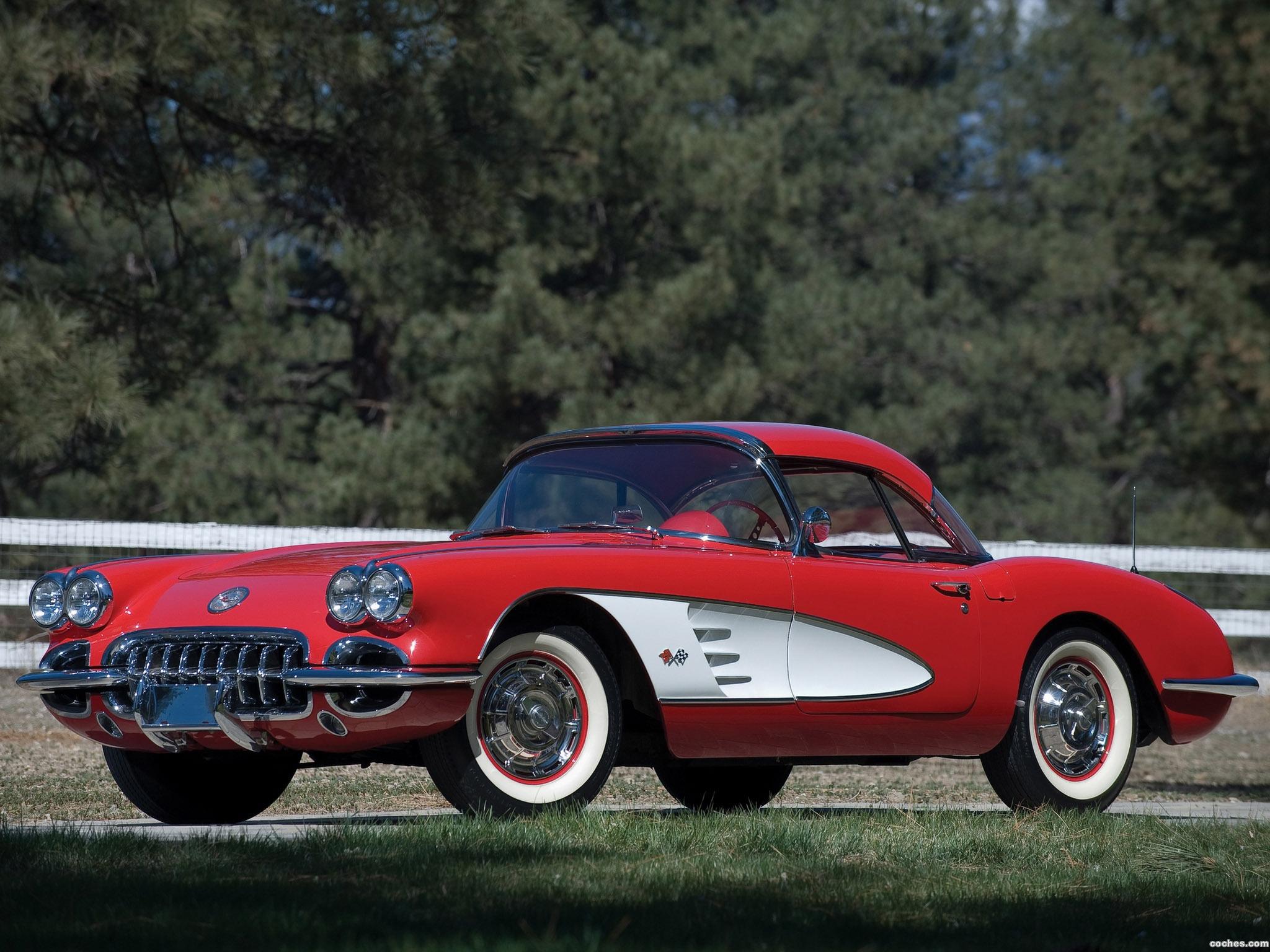 Foto 0 de Chevrolet Corvette C1 1959