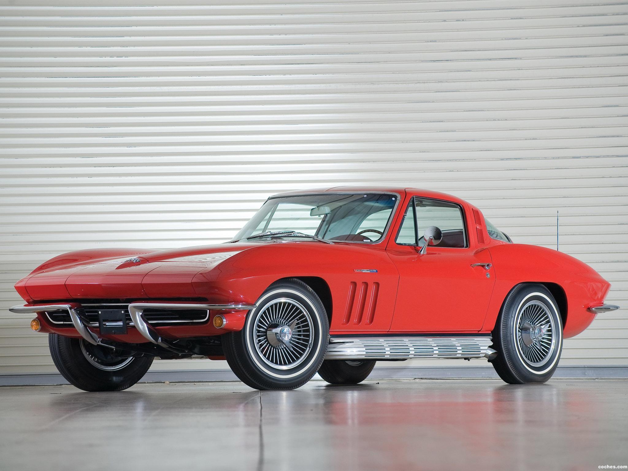 Foto 0 de Chevrolet Corvette C2 Sting Ray 327 L84 1965