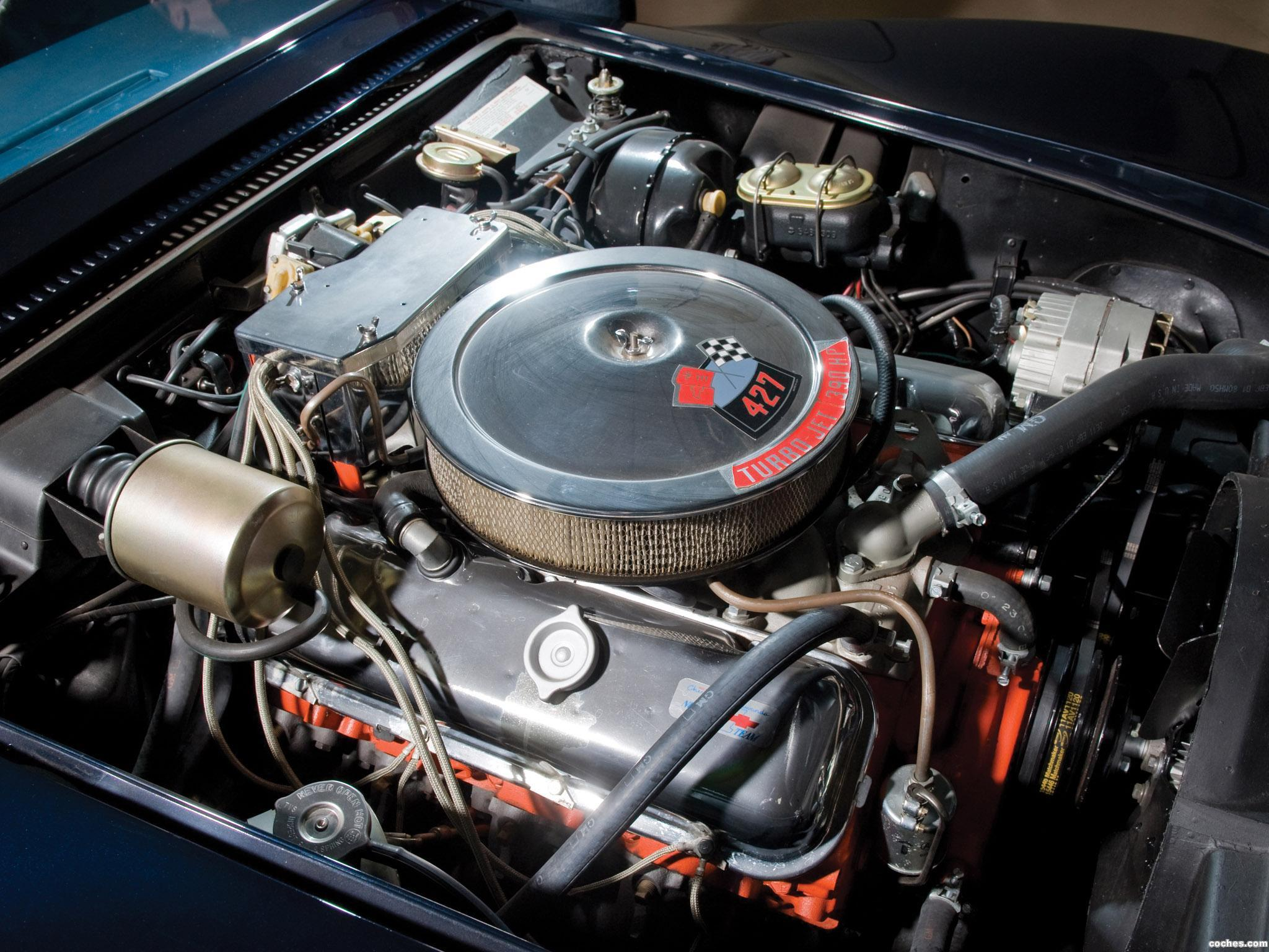 Foto 2 de Chevrolet Corvette C3 Stingray L36 427 Coupe 1969