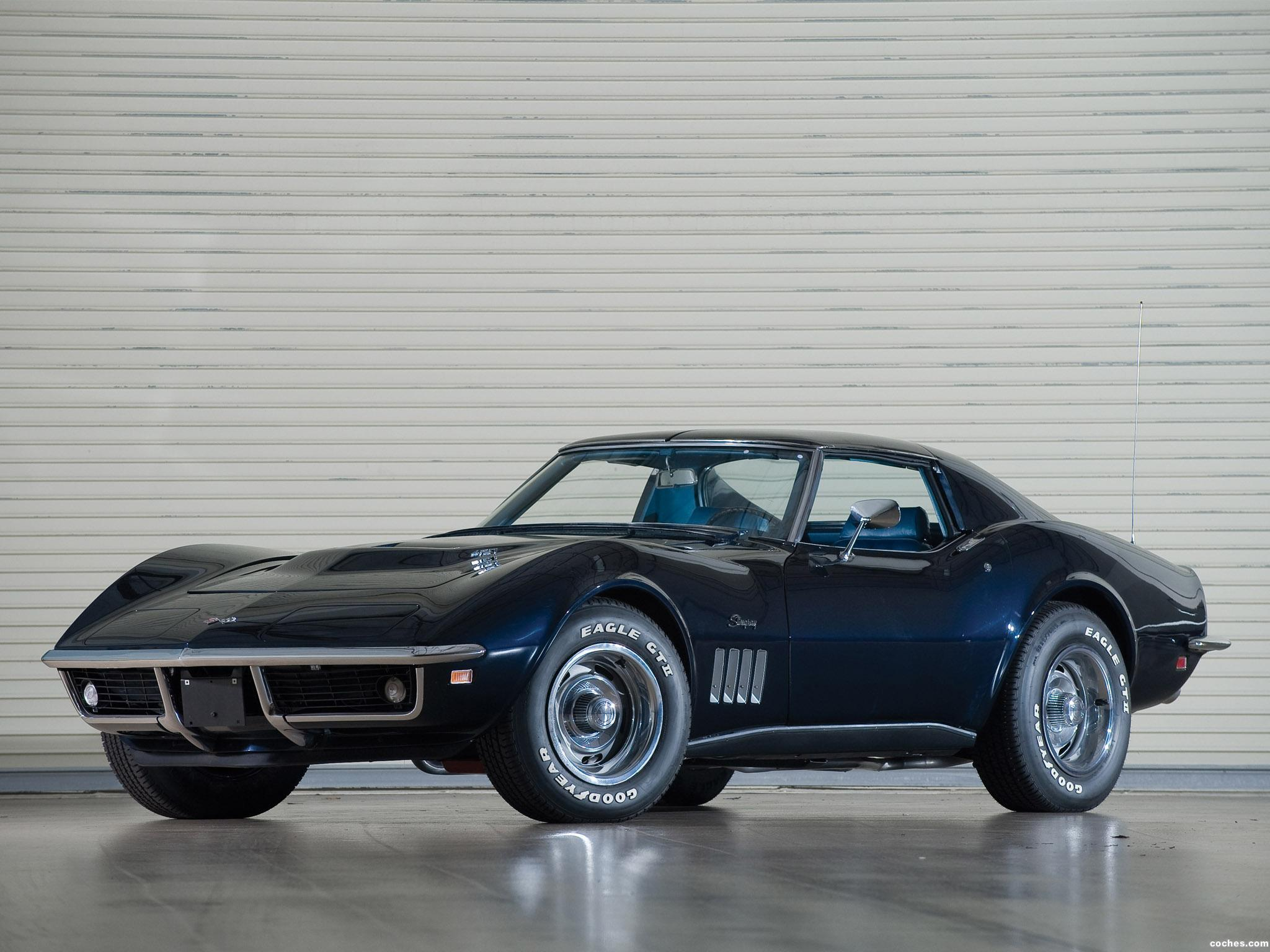 Foto 0 de Chevrolet Corvette C3 Stingray L36 427 Coupe 1969