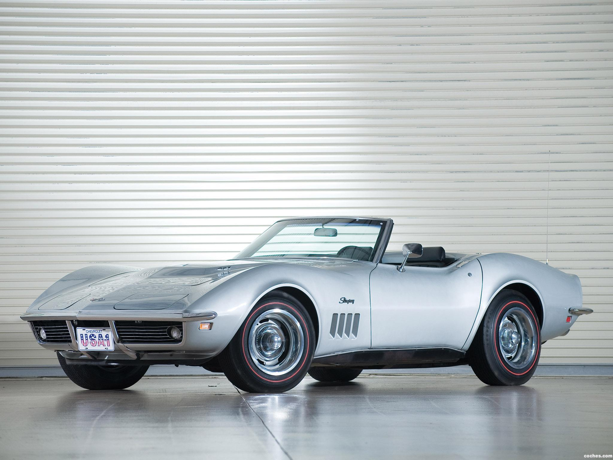 Foto 0 de Chevrolet Corvette C3 Stingray L71 427 Convertible 1969