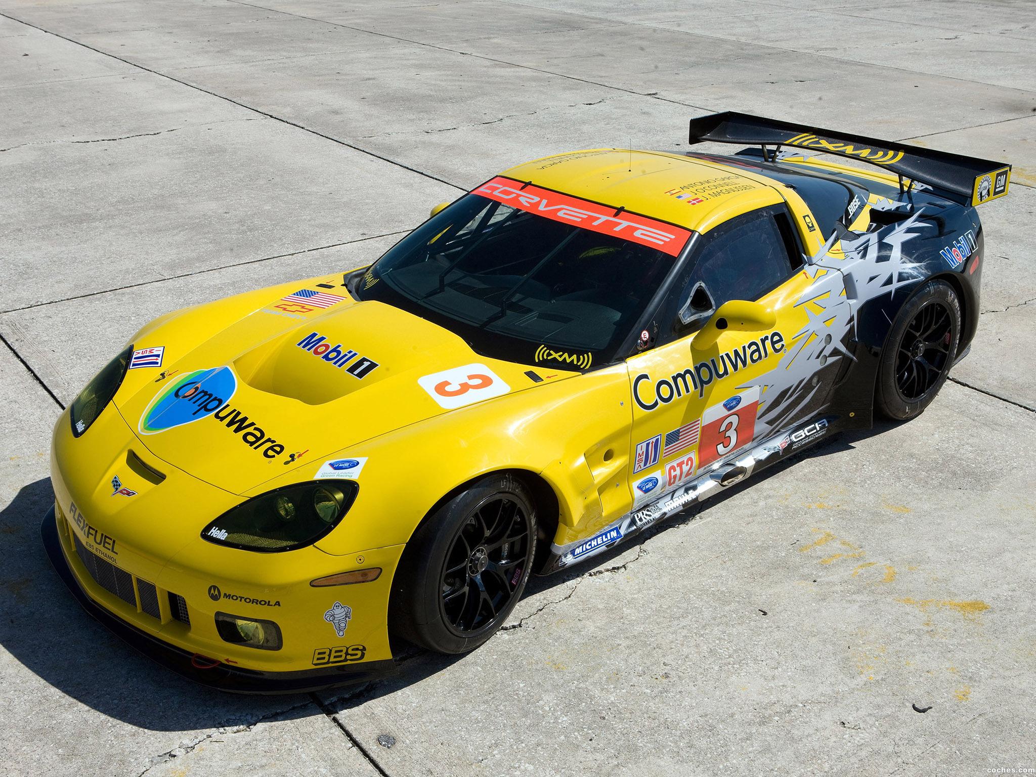 Foto 0 de Chevrolet Corvette C6-R GT2 2010
