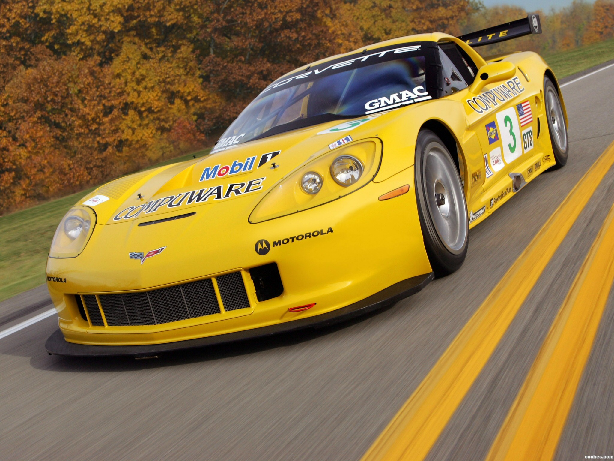Foto 0 de Chevrolet Corvette C6R Race Car 2005
