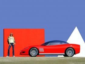 Ver foto 6 de Chevrolet Corvette Concept Italdesign Giugiaro 2003