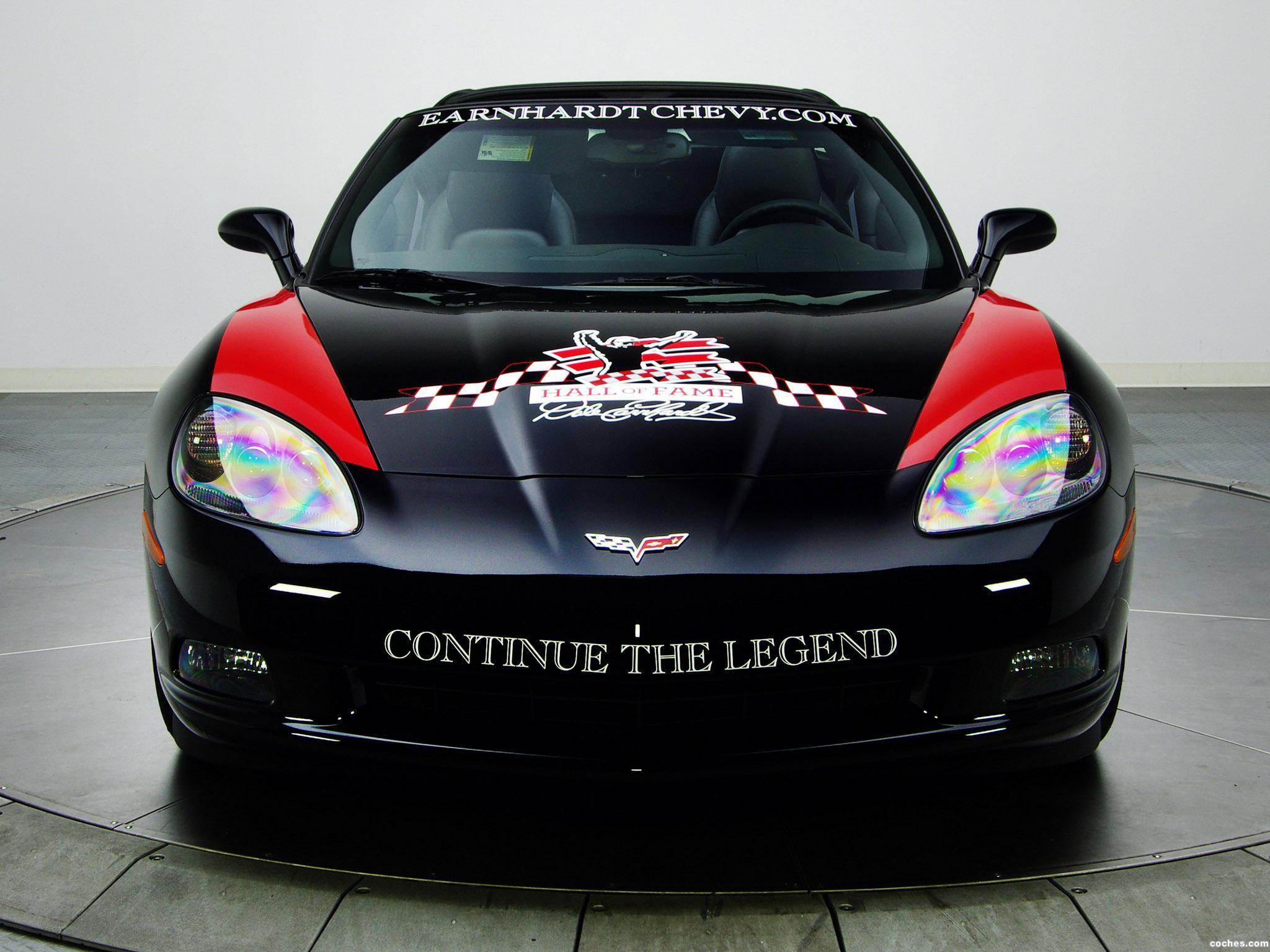 Foto 0 de Chevrolet Corvette Coupe Earnhardt Hall of Fame Edition 2010