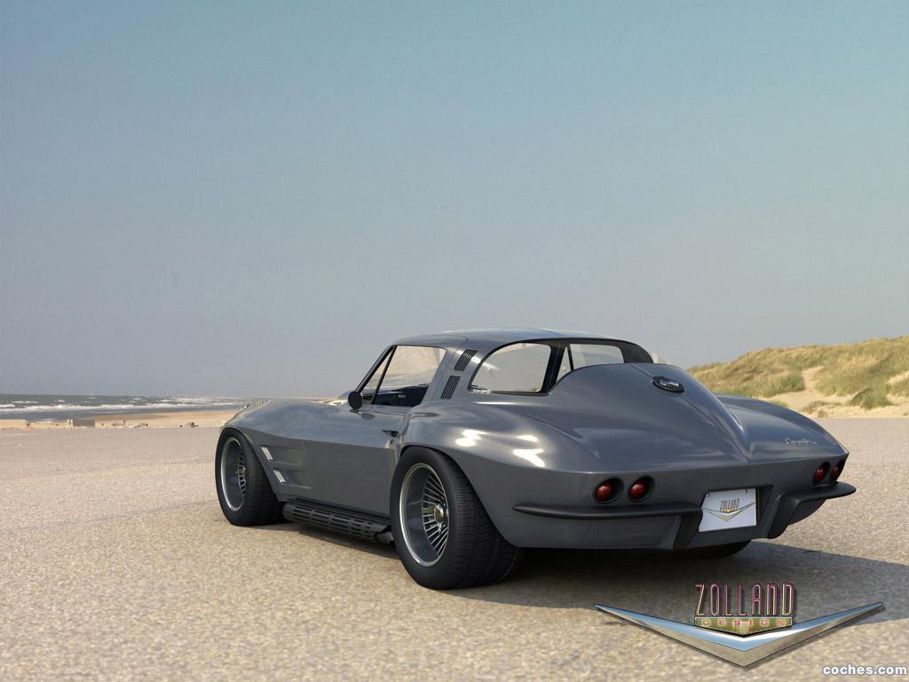 Foto 2 de Chevrolet Corvette Coupe by Zolland Design 1966