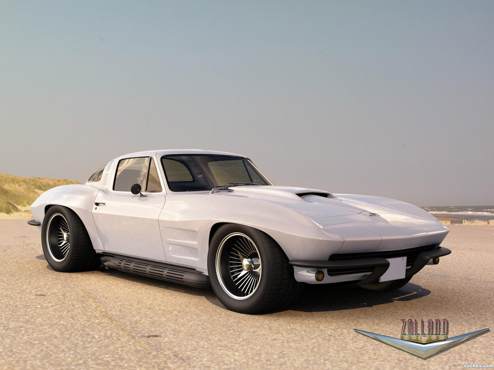 Foto 0 de Chevrolet Corvette Coupe by Zolland Design 1966