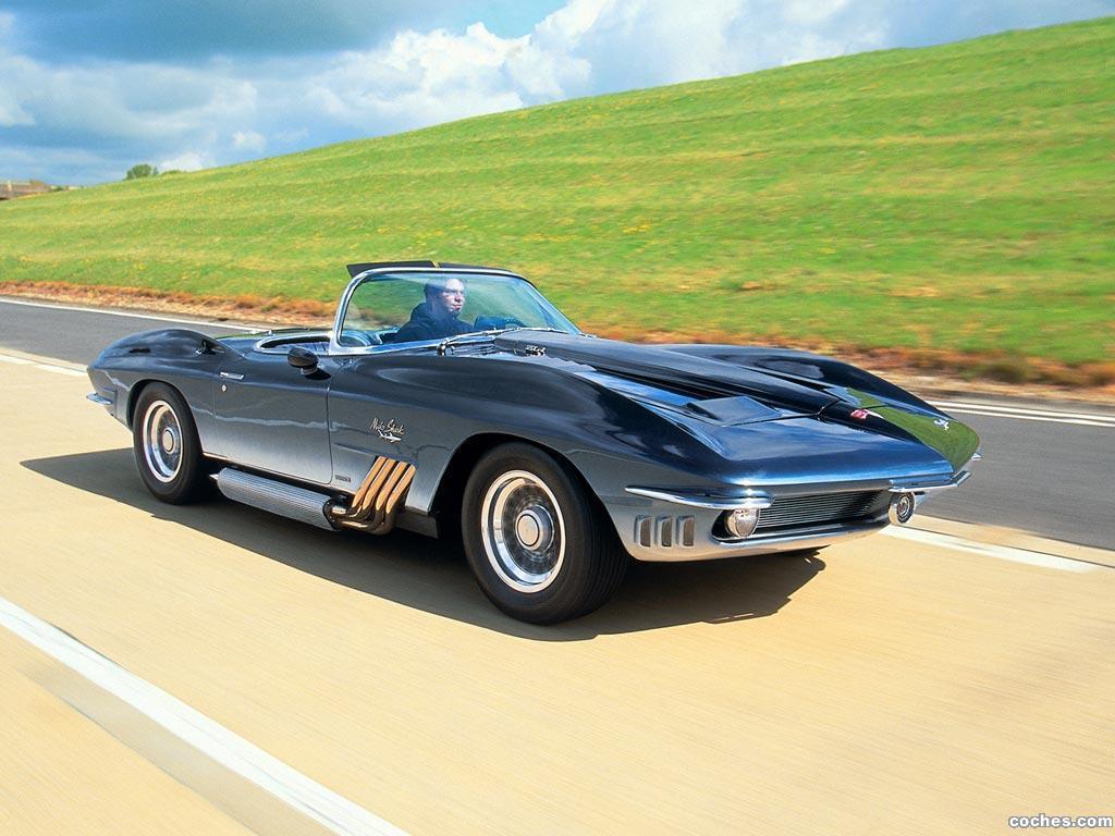 Foto 7 de Chevrolet Corvette Mako Shark Concept Car 1962