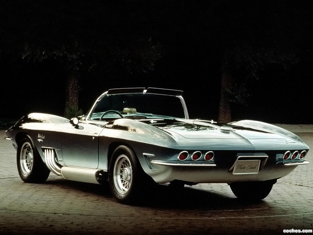Foto 4 de Chevrolet Corvette Mako Shark Concept Car 1962