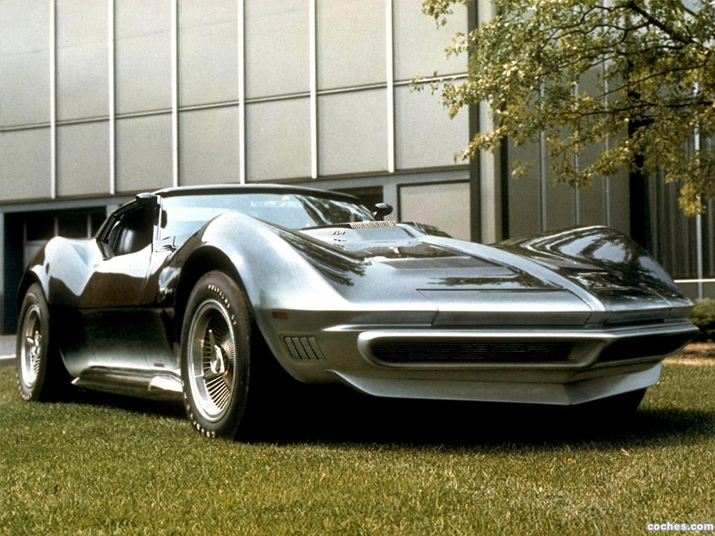 Foto 1 de Chevrolet Corvette Manta Ray Concept Car 1969