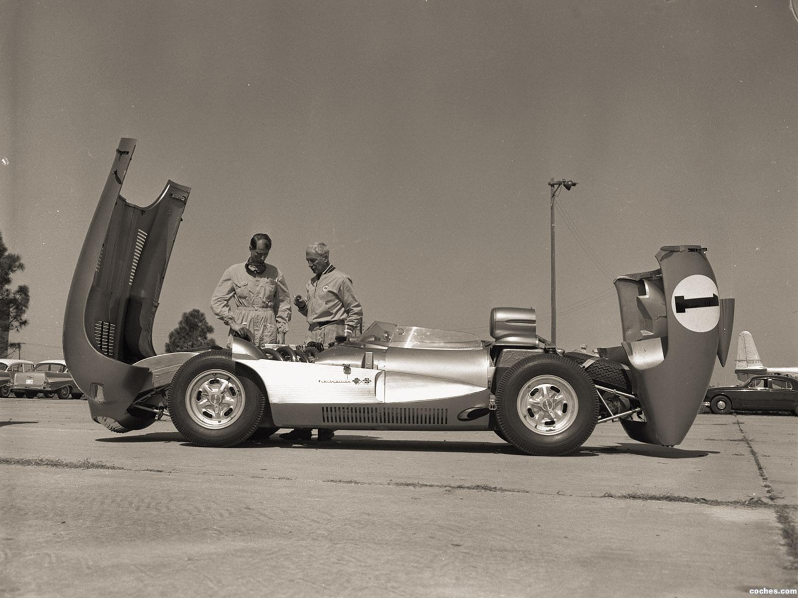 Foto 10 de Chevrolet Corvette SS XP 64 Concept Car 1957