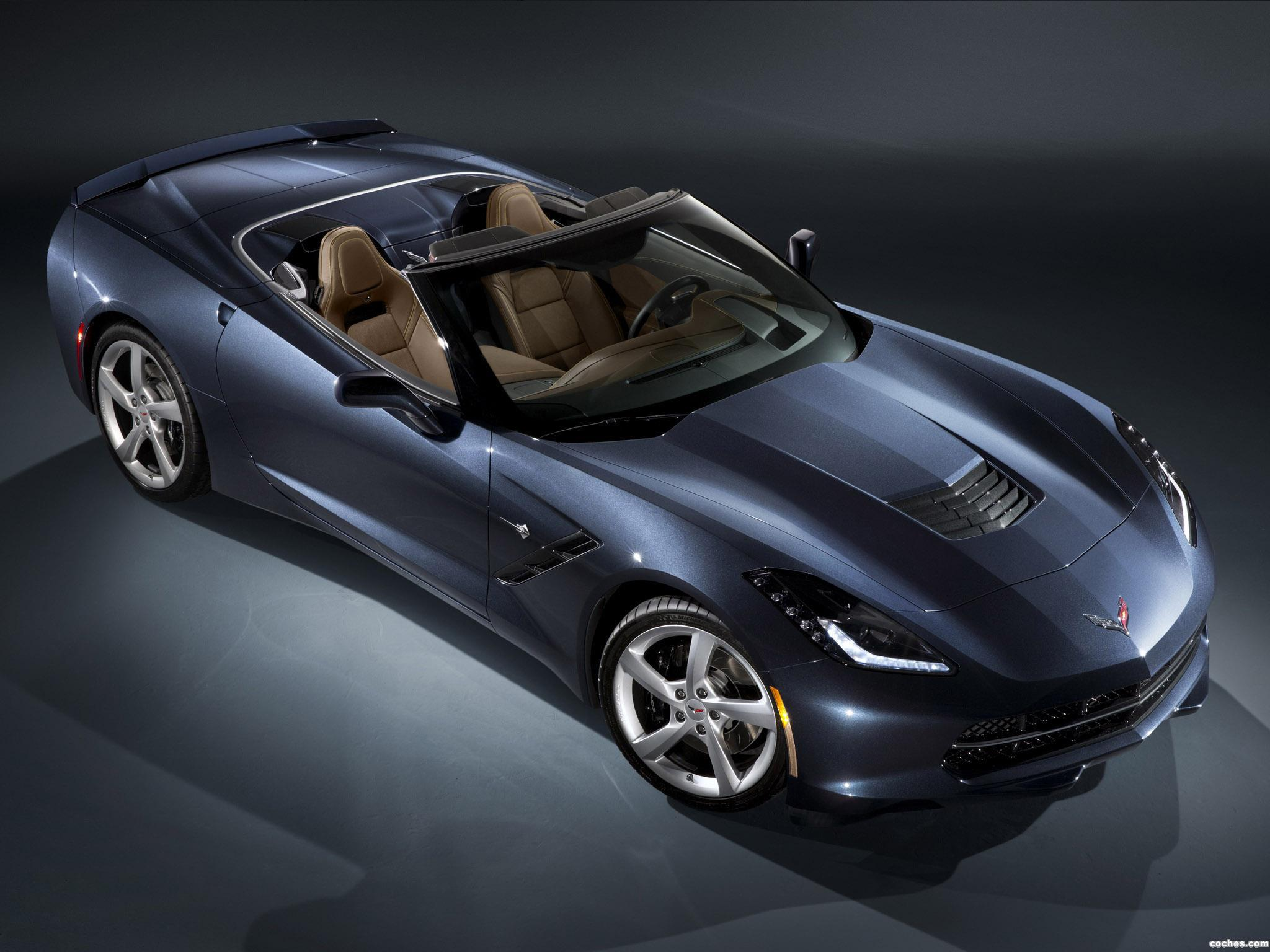 Foto 0 de Chevrolet Corvette Stingray Convertible C7 2013