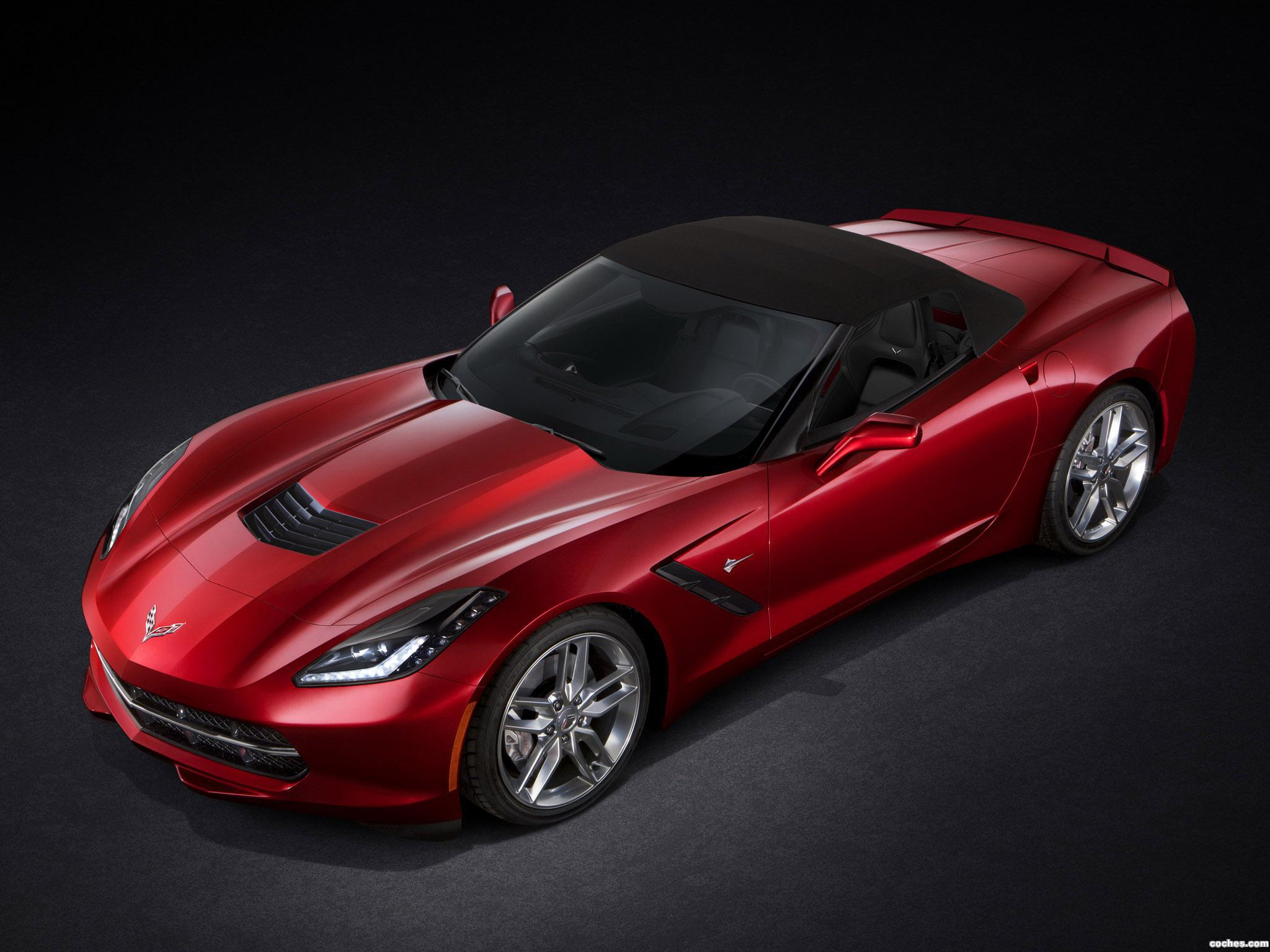 Foto 20 de Chevrolet Corvette Stingray Convertible C7 2013