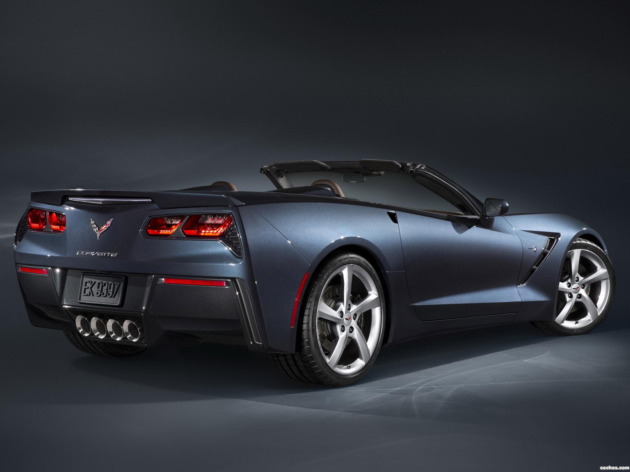 Foto 16 de Chevrolet Corvette Stingray Convertible C7 2013