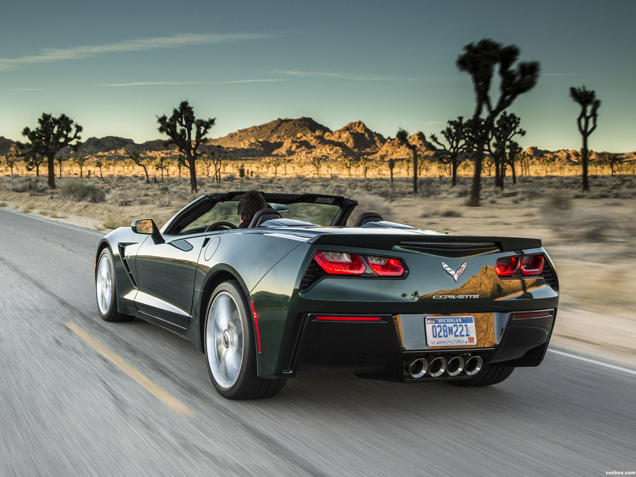 Foto 10 de Chevrolet Corvette Stingray Convertible C7 2013