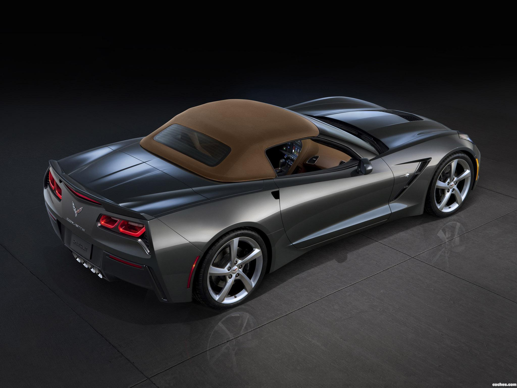 Foto 25 de Chevrolet Corvette Stingray Convertible C7 2013