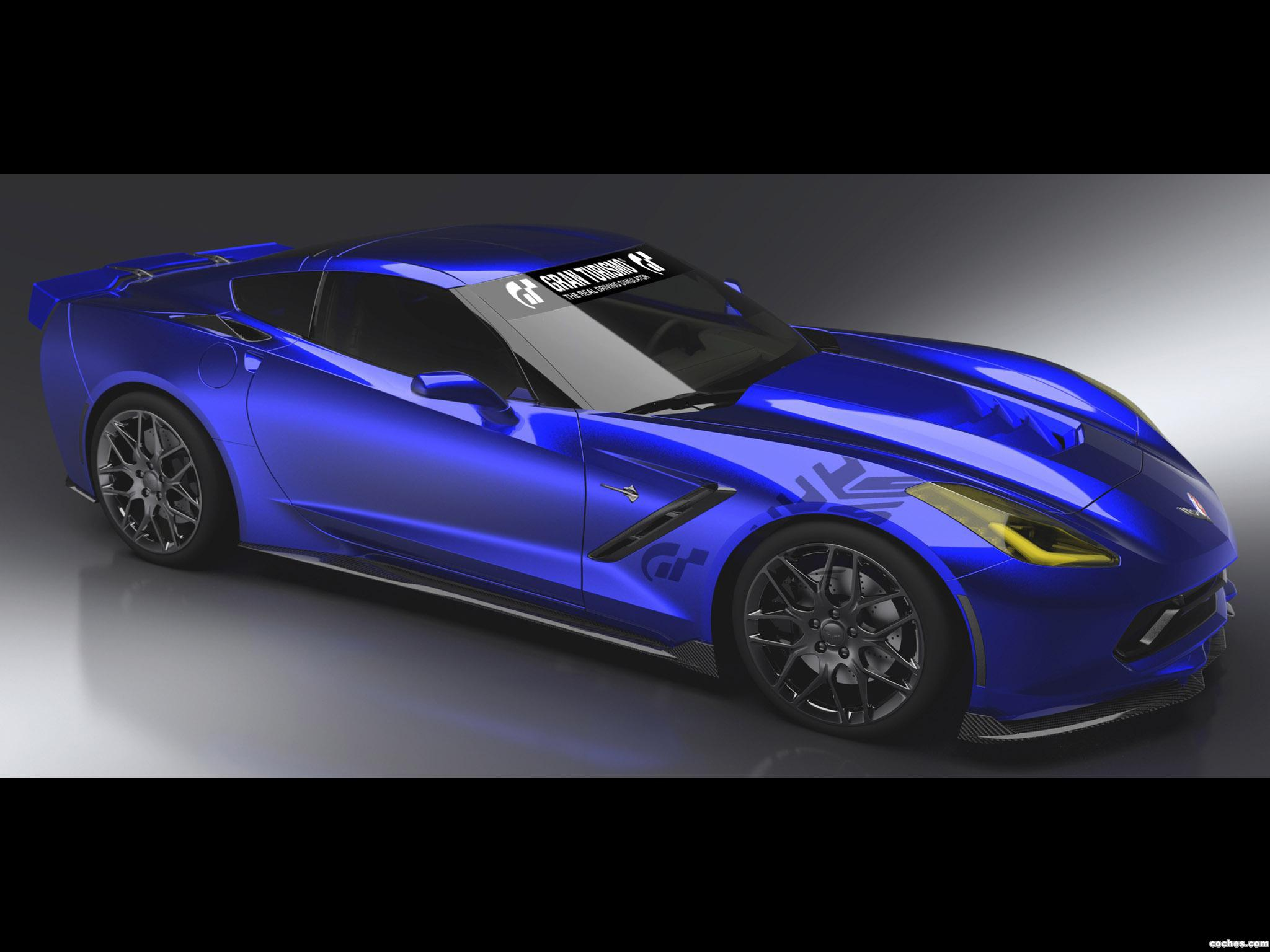 Foto 0 de Chevrolet Corvette Stingray Gran Turismo Concept 2013