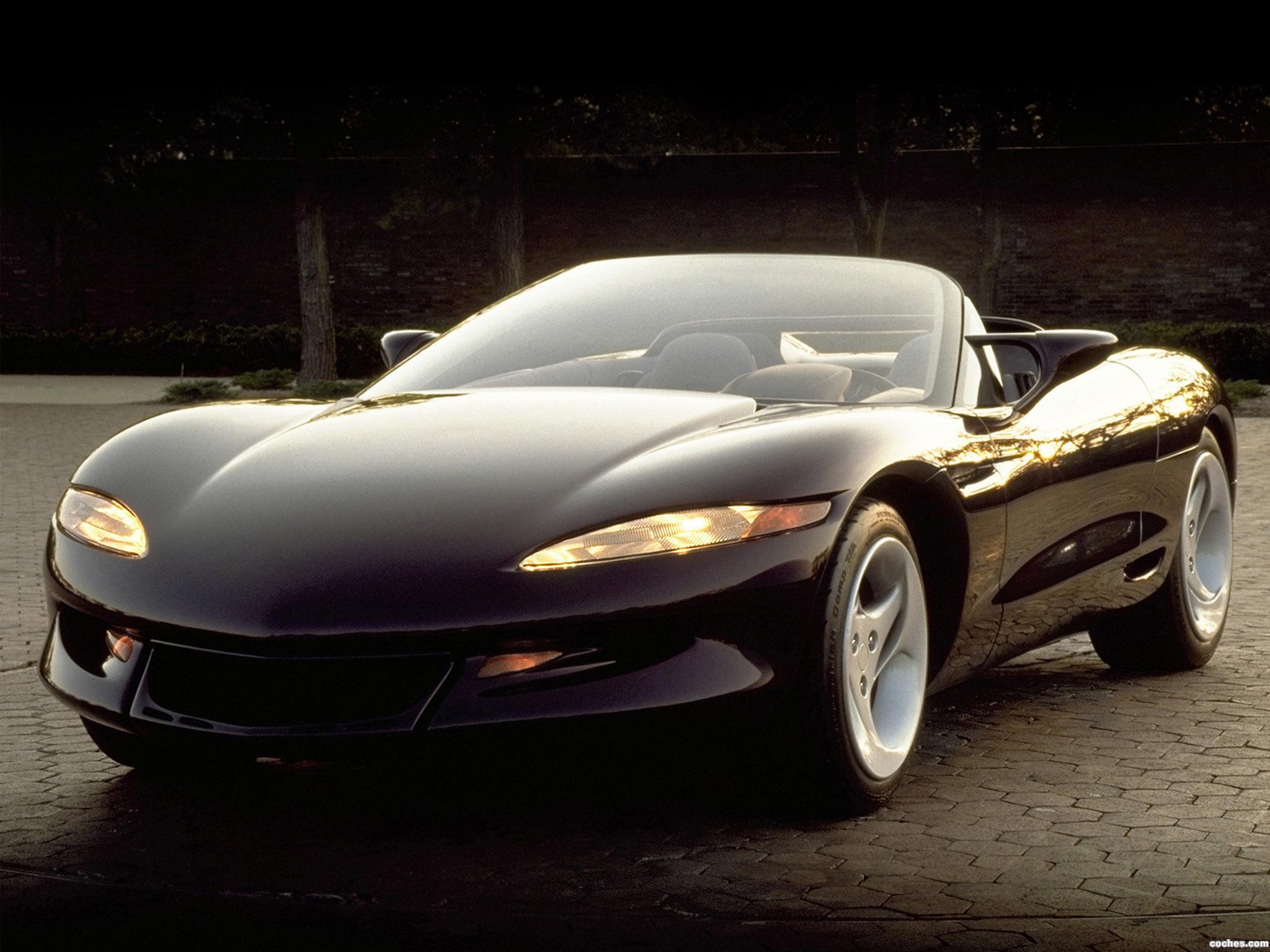 Foto 0 de Chevrolet Corvette Stingray III Concept 1991