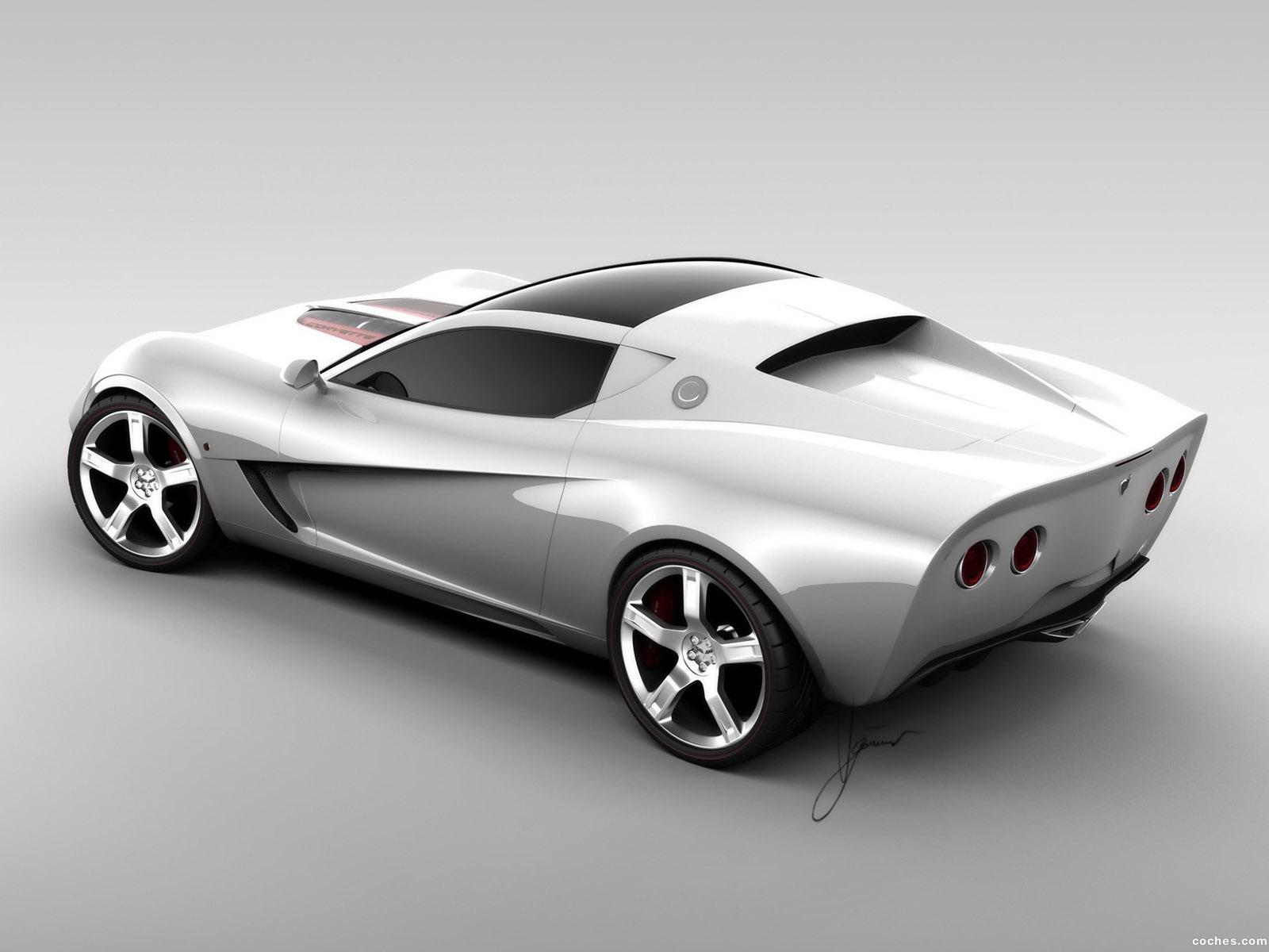 Foto 5 de Chevrolet Corvette Z03 Concept 2008