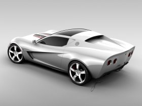 Ver foto 6 de Chevrolet Corvette Z03 Concept 2008