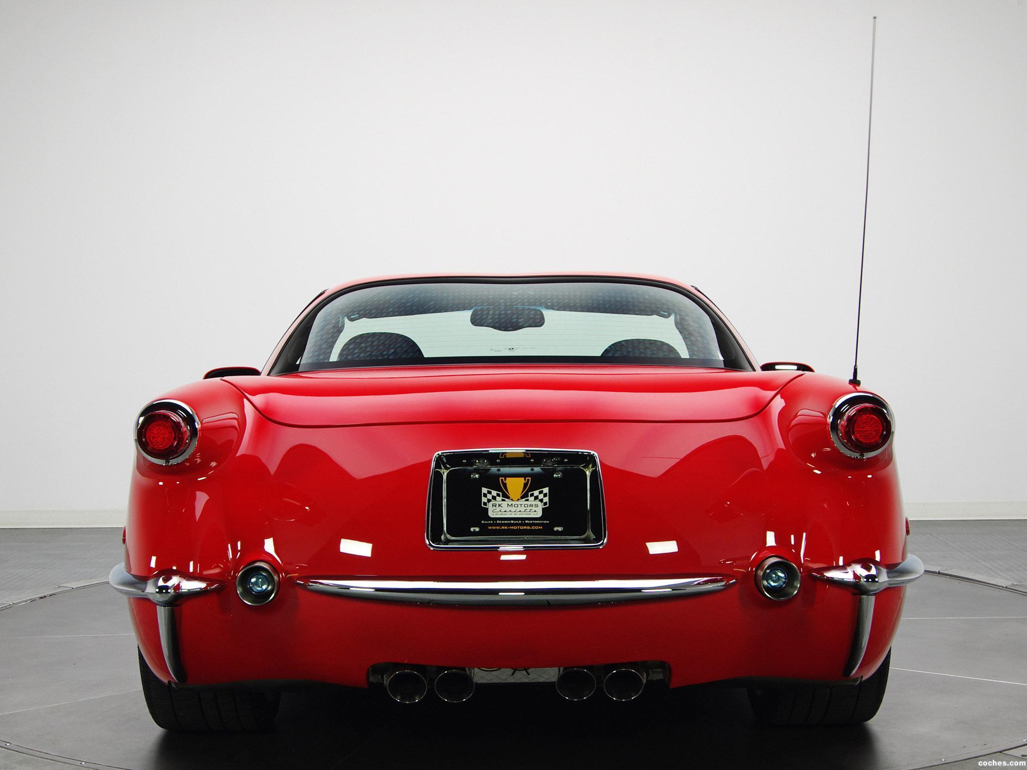 Foto 4 de Chevrolet Corvette C5 Z06 1953 Commemorative Edition 2001