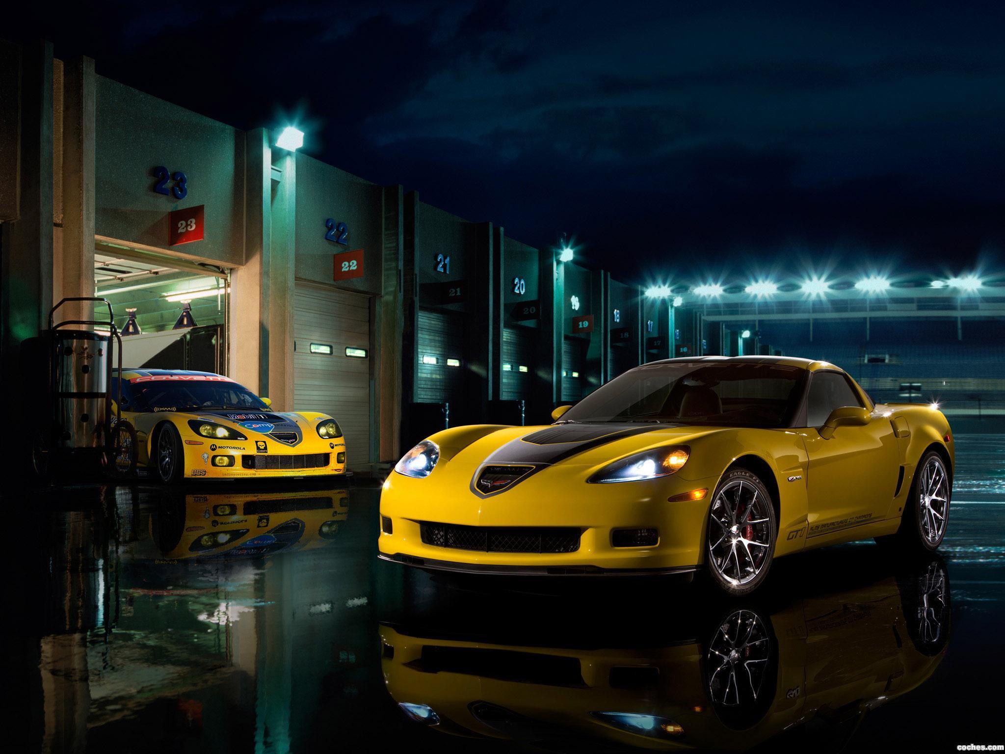 Foto 1 de Chevrolet Corvette Z06 GT1 Championship Edition C6 2009