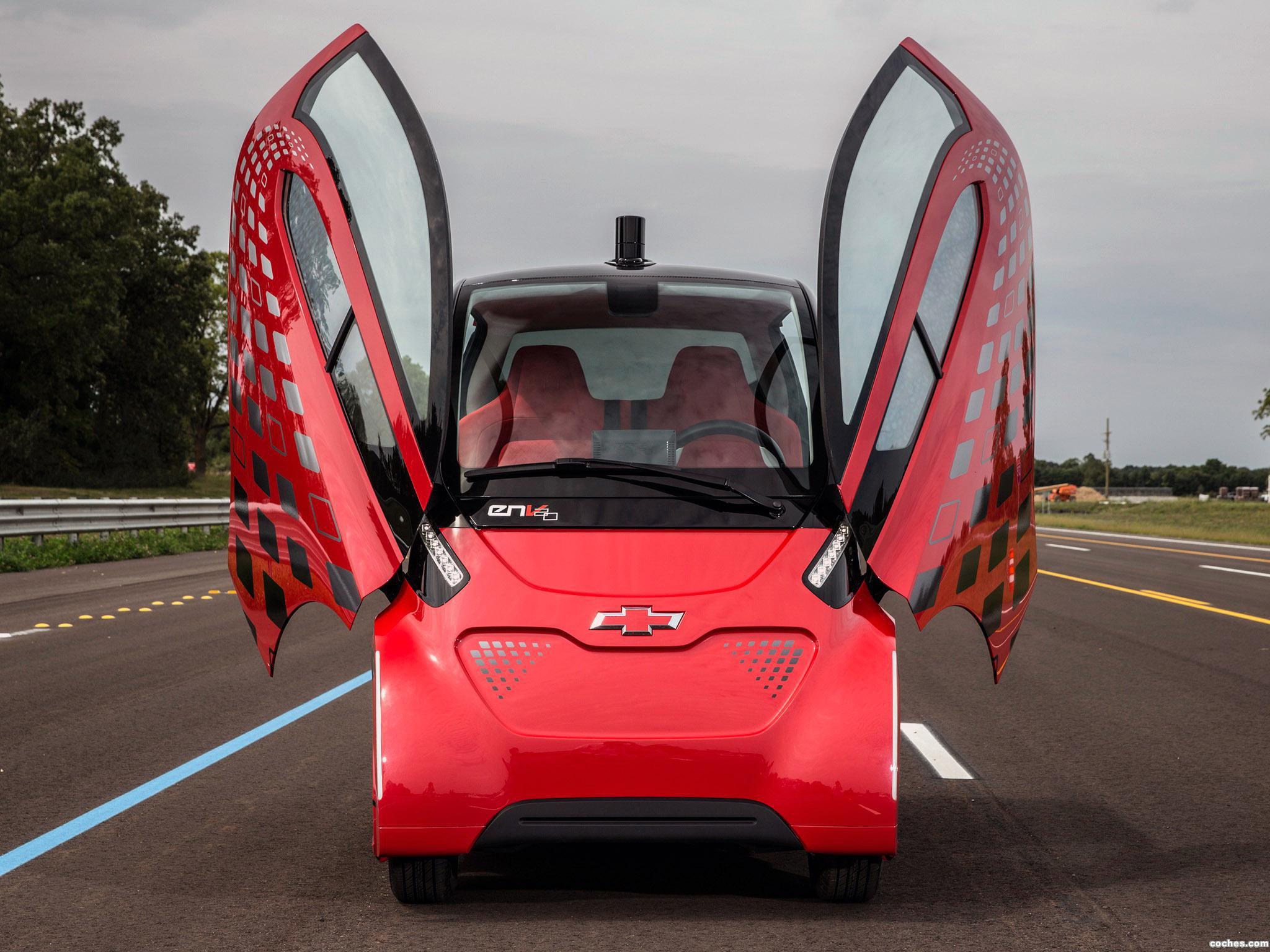 Foto 1 de Chevrolet Electric Networked Vehicle EN-V 2.0 2014