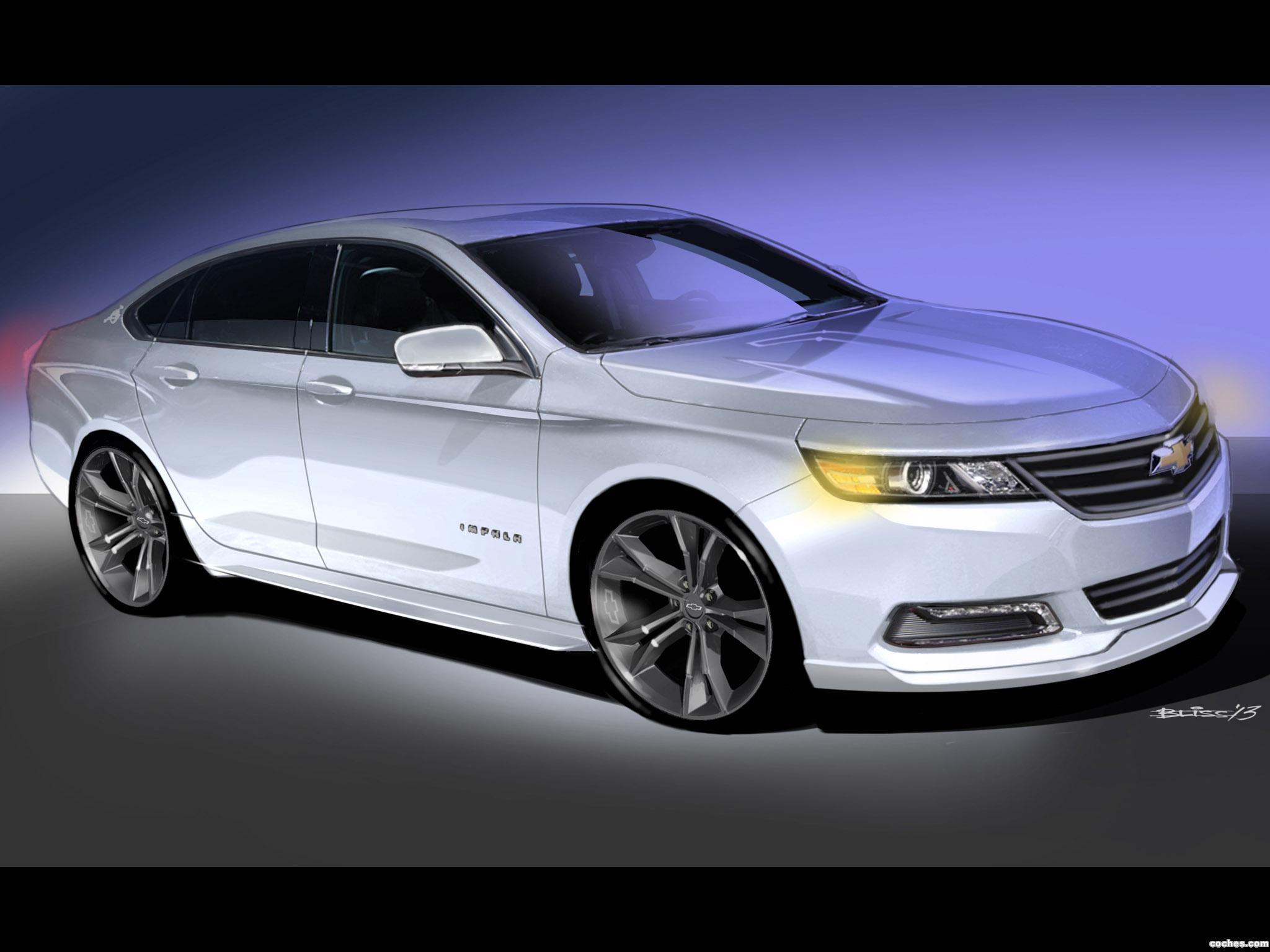 Foto 0 de Chevrolet Impala Urban Cool Concept 2013