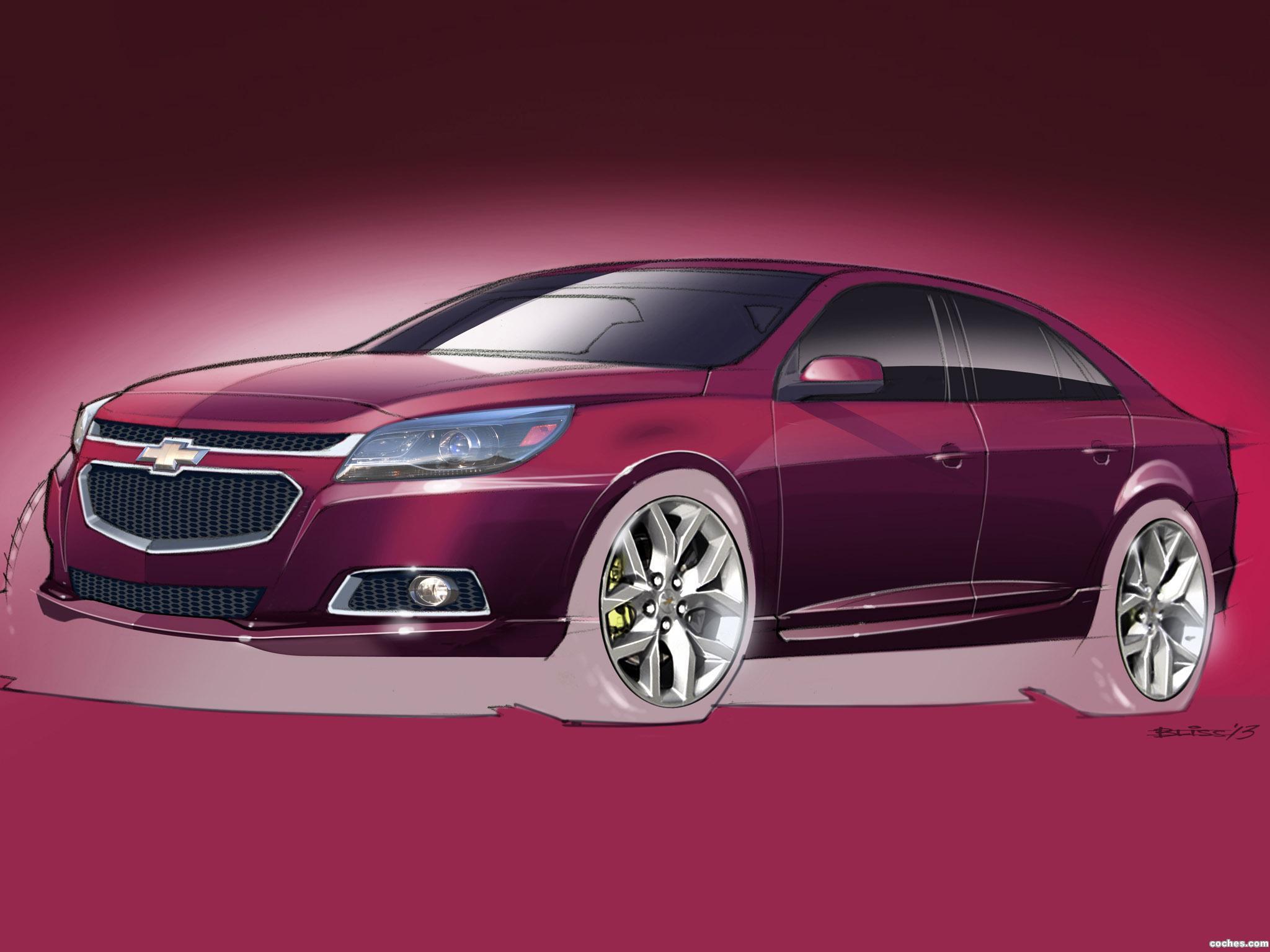 Foto 0 de Chevrolet Malibu LTZ Concept 2013