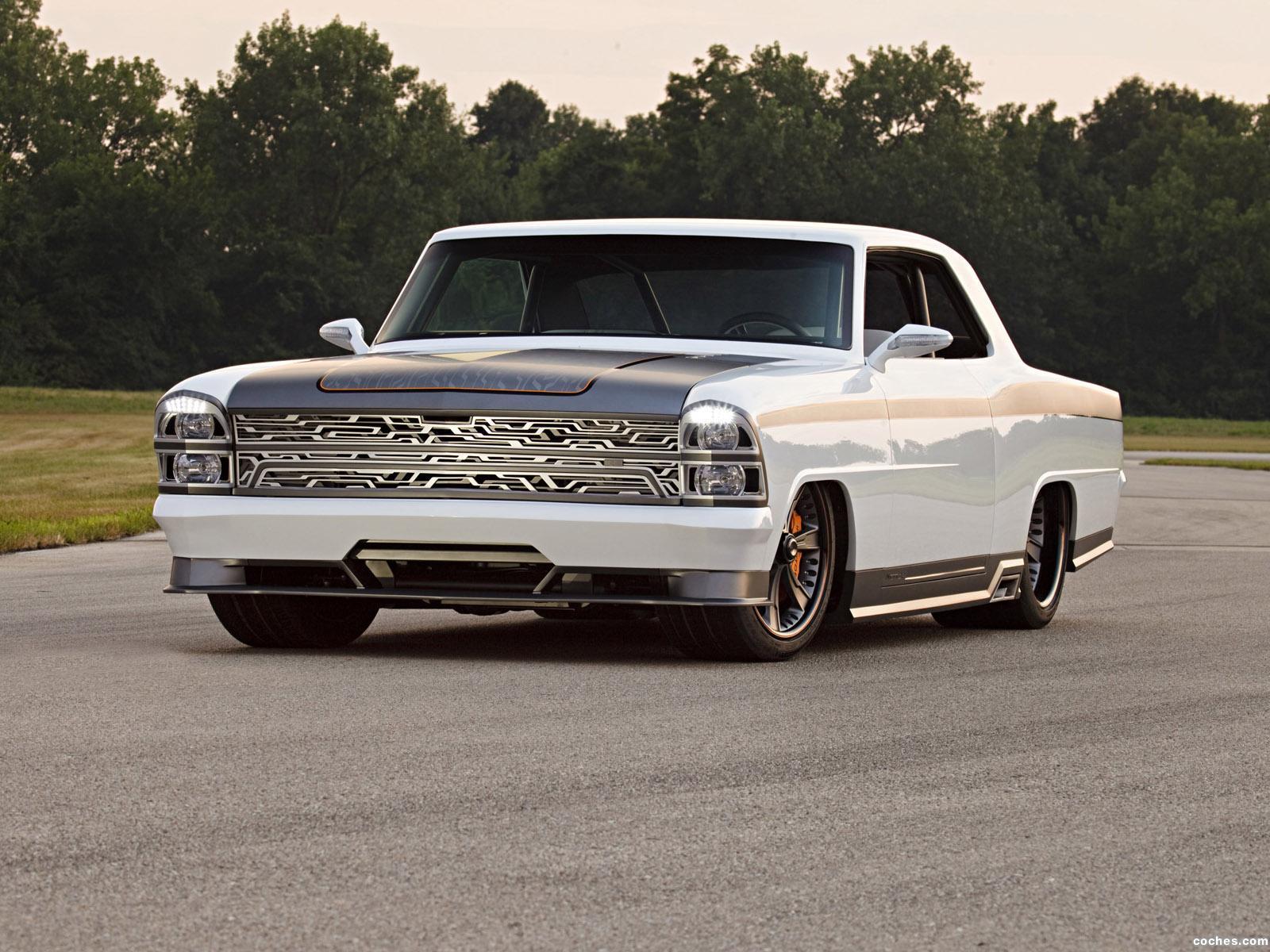Foto 0 de Chevrolet Nova Innovator Roadster Shop 1967