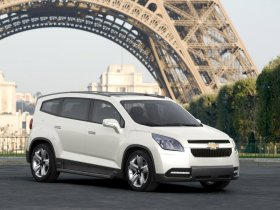 Ver foto 6 de Chevrolet Orlando Concept 2008
