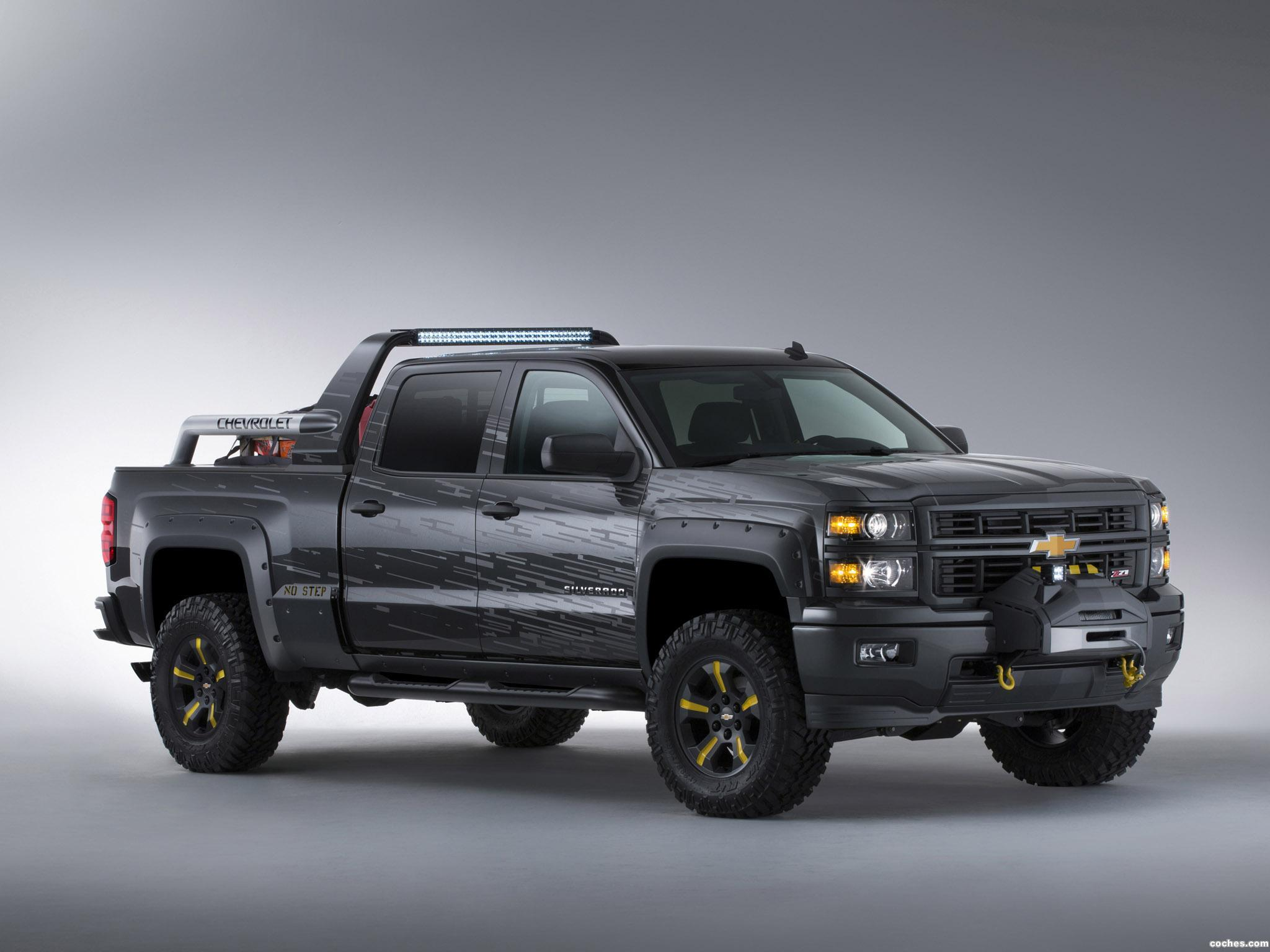 Foto 0 de Chevrolet Silverado Black Ops Concept 2013