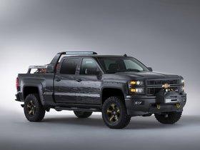 Ver foto 1 de Chevrolet Silverado Black Ops Concept 2013