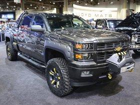 Ver foto 4 de Chevrolet Silverado Black Ops Concept 2013