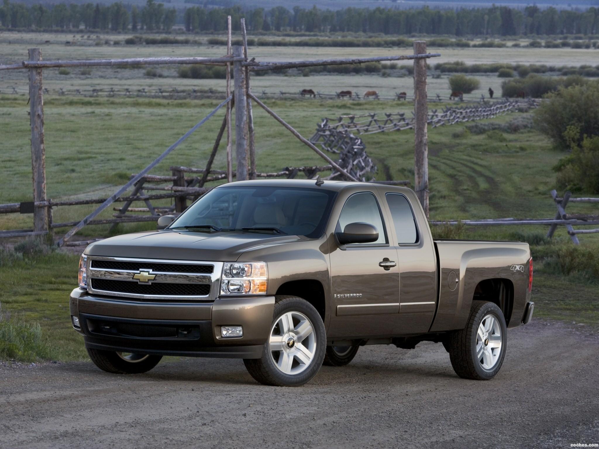 Foto 0 de Chevrolet Silverado Extended Cab 2007